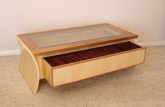 Photo: Collection Coffee Table - Michael Dooley.   Silver Ash, Tas Blackwood
