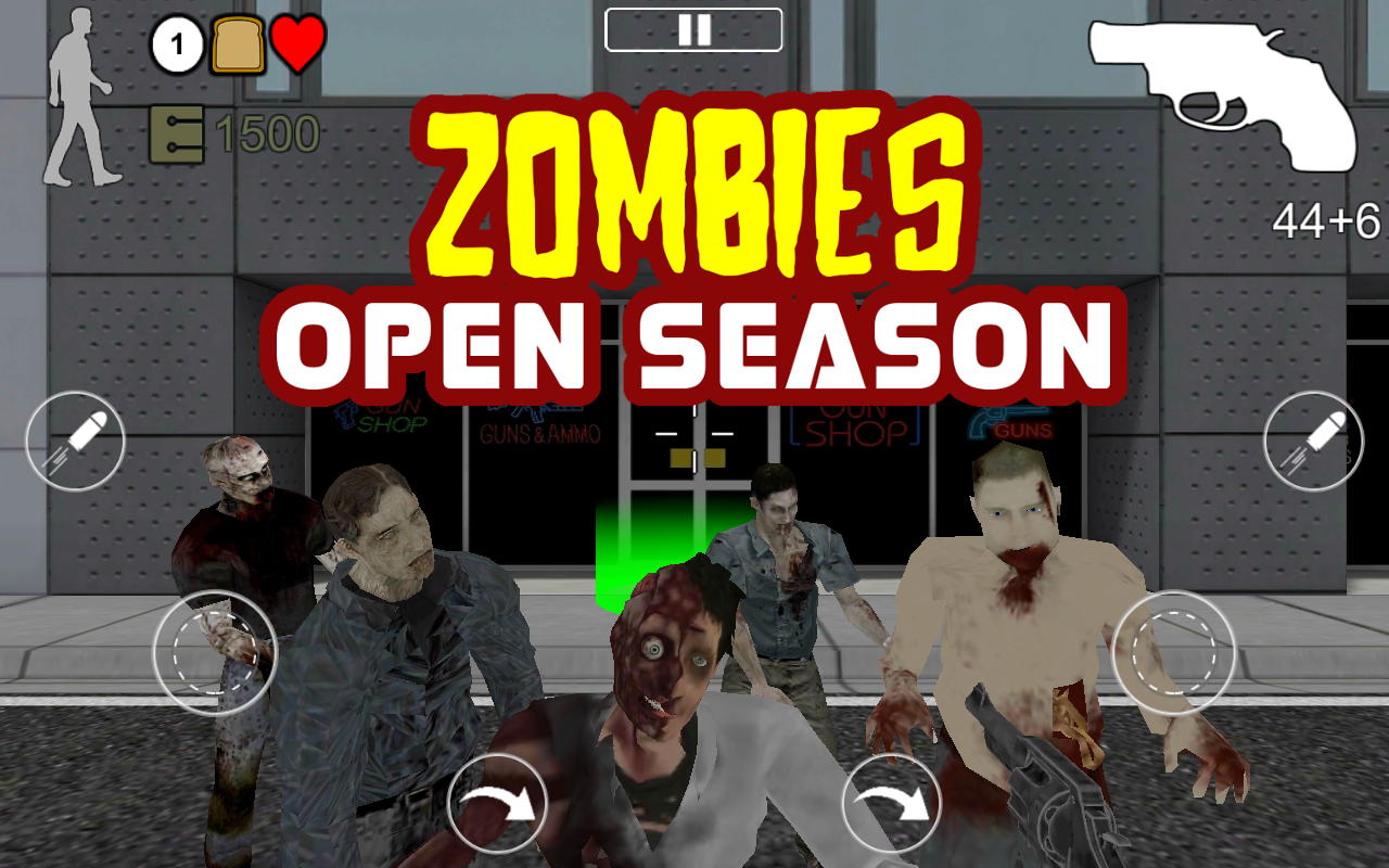 Zombies Open Season- screenshot