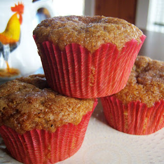 Gluten-Free Flax Meal/Almond Flour Muffins.