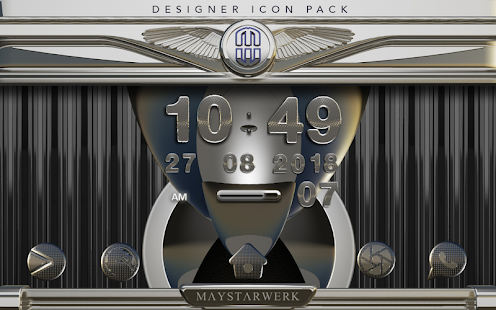 Iron Steel HD Icon Pack Screenshot