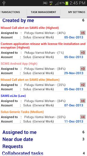 SAMS eLite screenshot 7