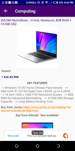 Kenya Online Shopping - All Stores (Compare Price) screenshot 5