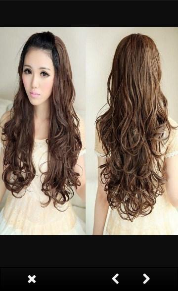 Korean Hairstyles For Women Screenshot