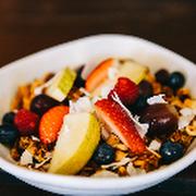 Kids Granola Yoghurt and Fruit