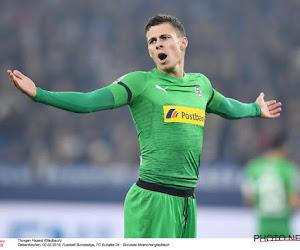 Thorgan Hazard aan het feest in de Bundesliga