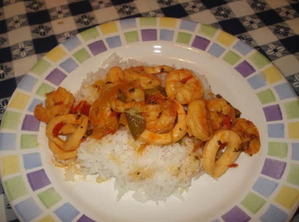 Shrimp & Calamari Fricasee (fricase De Camaron Y Calamares) Recipe