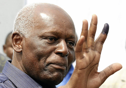 Angolan President Jose Eduardo dos Santos, pictured in 2012. Picture: REUTERS