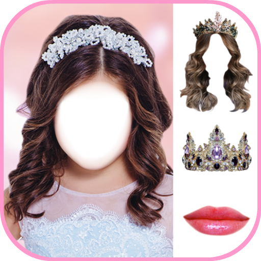 Princess Hairstyle Photo Editor Icon