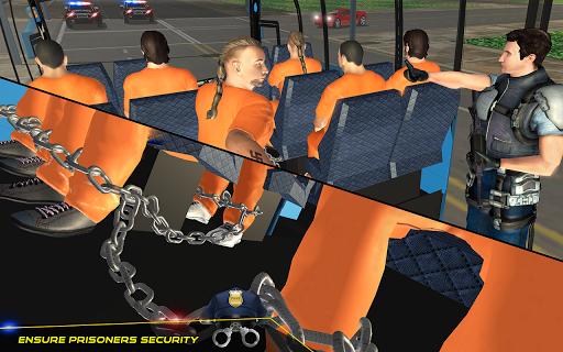 US Police Bus Transport Prison Break Survival Game 4.0 screenshots 6