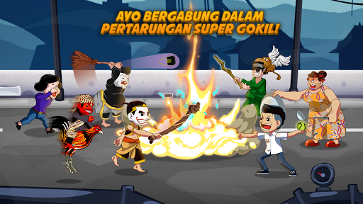 Juragan Wayang : Funny Heroes APK MOD screenshots 1