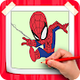 How To Draw Amazing Spiderman Step By Step APK icon