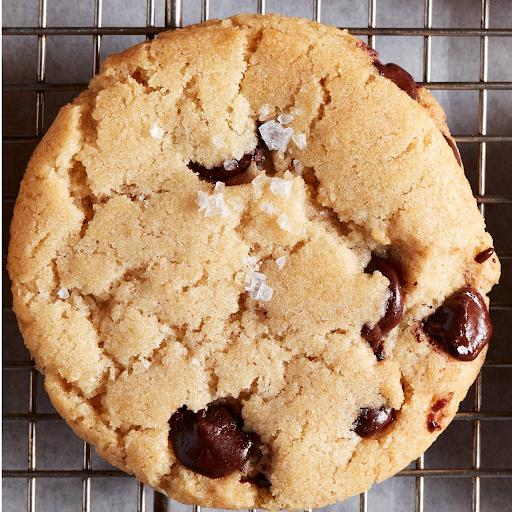 Salted Vegan Chocolate Chip Cookie