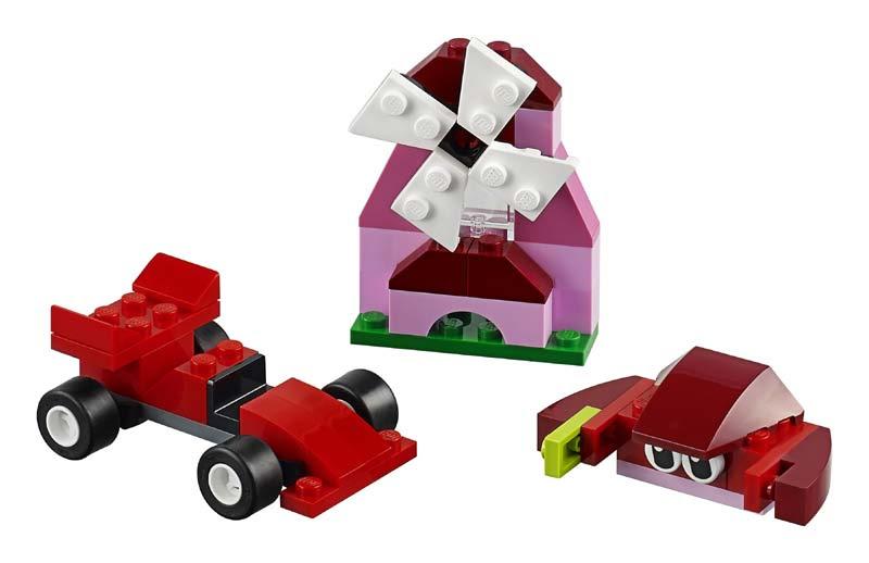 Contenido de Lego® 10707 Caja Creativa Roja