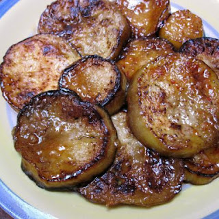 Sweet and Spicy Moroccan Eggplant.