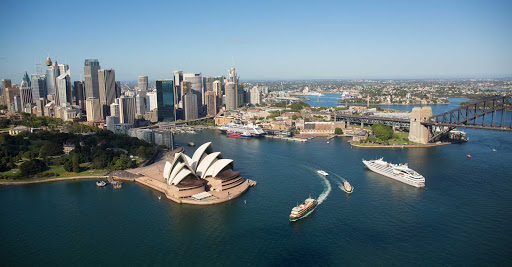See Sydney Harbour in style on a Ponant luxury expedition ship.