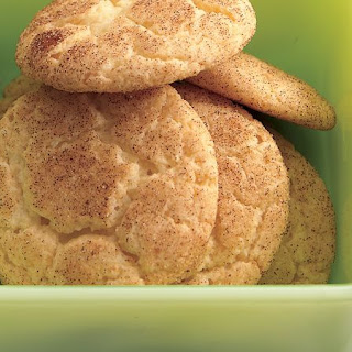 Cake Mix Snickerdoodles.