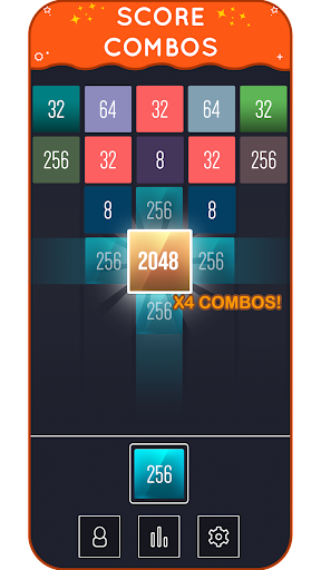 X2 Blocks - Merge Puzzle 2048 android2mod screenshots 4
