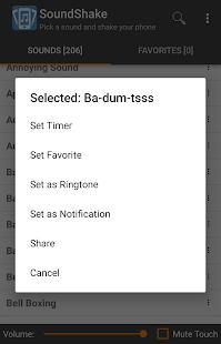 SoundShake free soundboard app - náhled