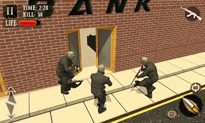 Bank Robbery Crime LA Police screenshot