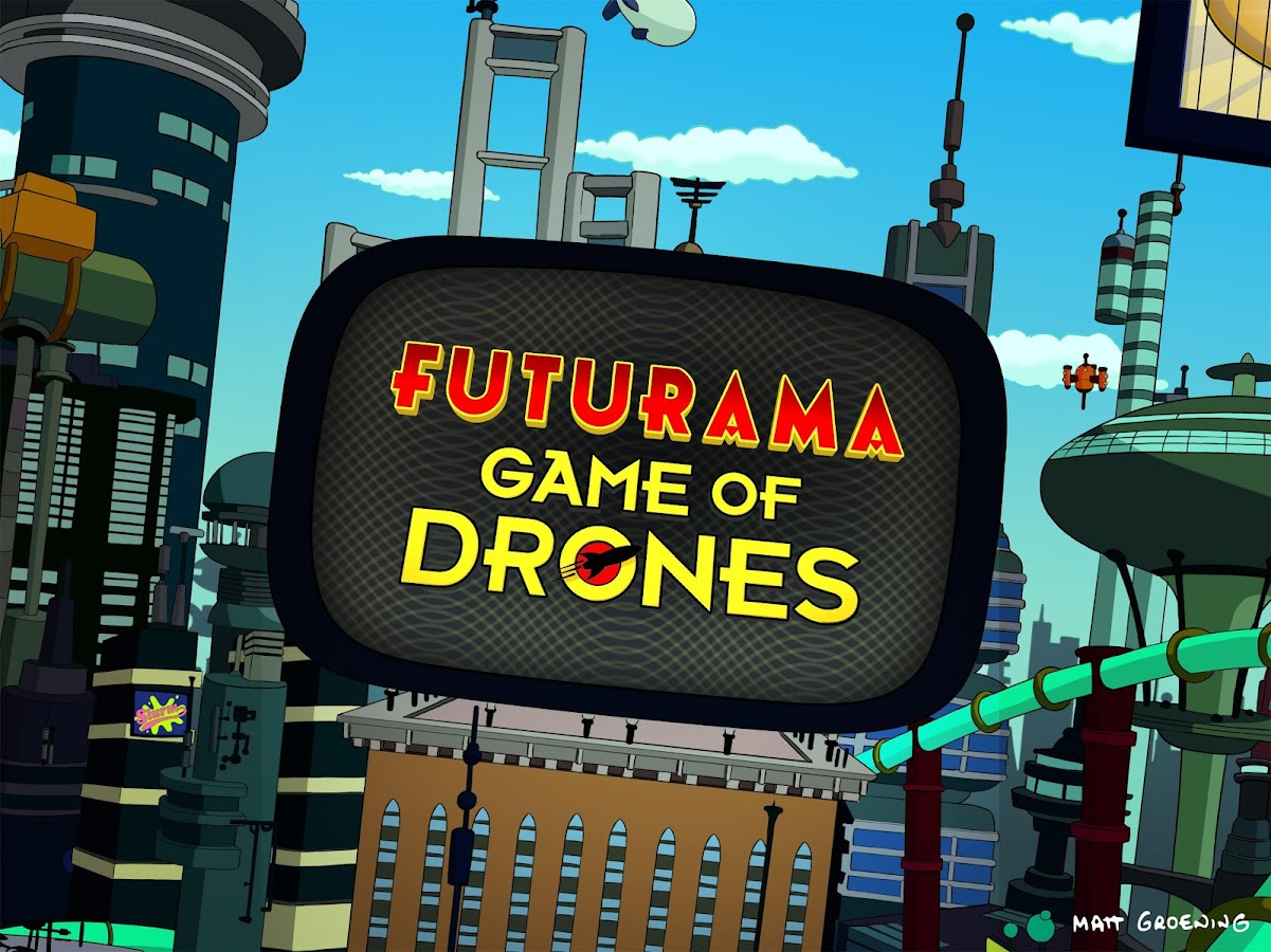 Screenshots of Futurama: Game of Drones for iPhone