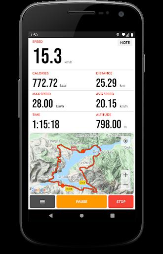 Cycling Diary - Bike Tracker screenshot 1