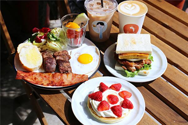 嘉義美食-那個那個咖啡 全新2.0菜單暖心上線丨 誰說平價早餐就沒有沖泡咖啡!?