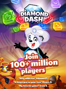 Game Diamond Dash Match 3: Award-Winning Matching Game APK for Windows Phone