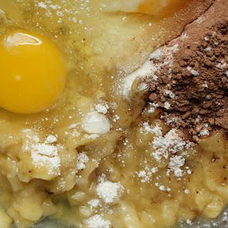 Chocolate Protein Pancakes.