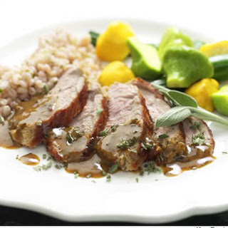 Mustard-Maple Pork Tenderloin.