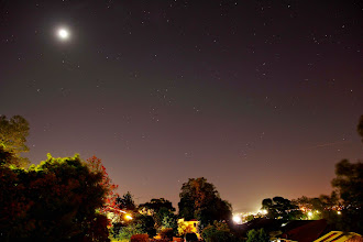 Photo: A Moonlit Night In The Suburbs