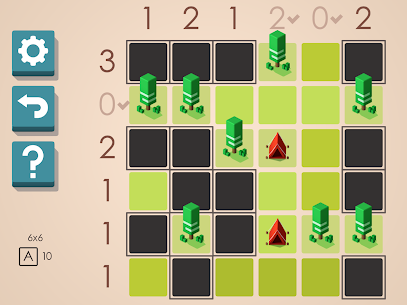 Tents and Trees Puzzles 9