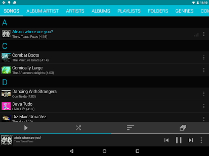 Rocket Player : Music Player Screenshot