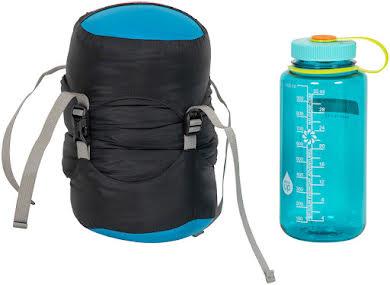 NEMO Kayu, 30, 800-fill DownTek Sleeping Bag, Carbon/Blue Flame, Regular alternate image 1