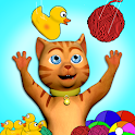 Cat Story With Leo's Fun Toys icon