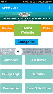 SPPU Quick : Pune University App - náhled