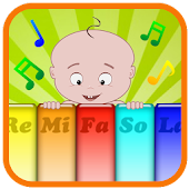 Piano music baby game