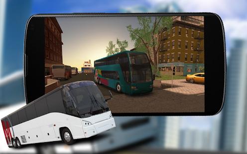 City Bus Modern Coach Drive Transport Simulator 3D - náhled
