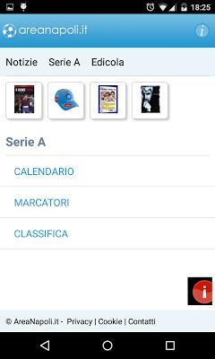 AreaNapoli.it - screenshot