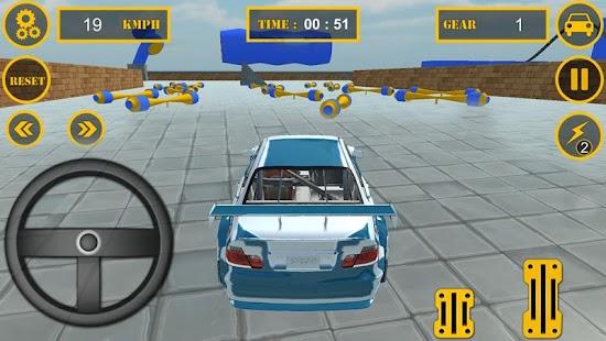 Real Theft Car Sky Auto Stunt - náhled
