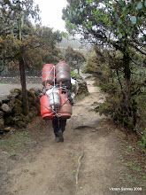 Photo: Yes, porters carry ridiculous loads.