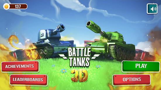 Tanques de batalha 3D Imagen do Jogo