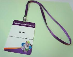 Photo: 紫色多用途識別證