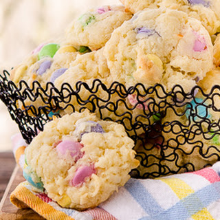 Chocolate Candy Coconut Cookies