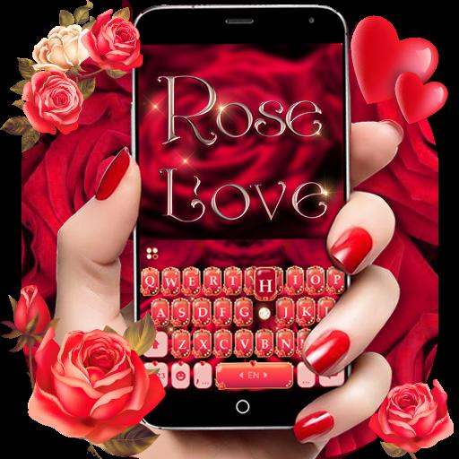 Rose Love Keyboard Theme