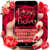 Rose Love Keyboard Theme