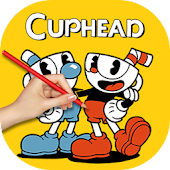 Tải How to draw cuphead characters APK