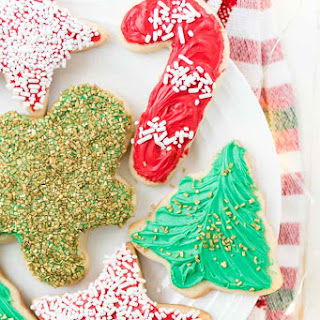 Classic Christmas Sugar Cookie.