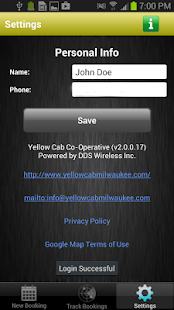 Yellow Cab Co-Operative- screenshot thumbnail