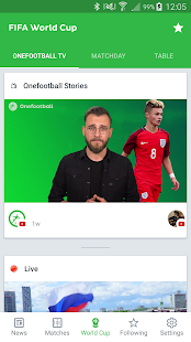 App Onefootball - World Cup News APK for Windows Phone
