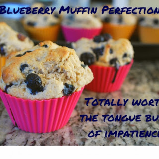 Perfect Blueberry Muffins.